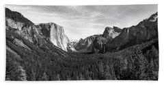 Yosemite B/w Beach Sheet