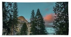 Yosemite Campside Evening Beach Towel
