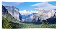 Yosemite National Park, California, Usa Beach Towel by Panoramic Images