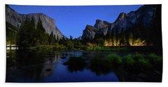 Yosemite Nights Beach Towel
