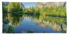 Beach Towel featuring the photograph Yosemite by RC Pics