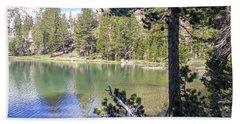 Yosemite Lake Beach Towel