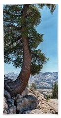 Yosemite Tree Beach Towel