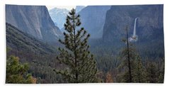 Yosemite Valley - Tunnel View Beach Sheet