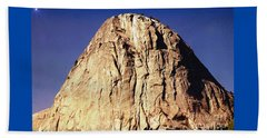 Yosemite Twilight Mountain Beach Towel