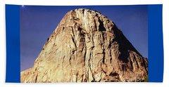 Yosemite Twilight Mountain Beach Towel