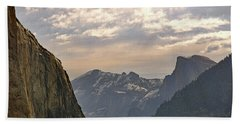 Yosemite Valley - Tunnel View Beach Towel