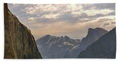 Yosemite Valley - Tunnel View Beach Sheet