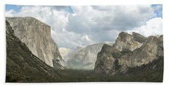 Yosemite Valley Yosemite National Park Beach Towel