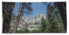 Yosemite View 13 Beach Towel