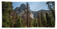 Yosemite View 18 Beach Towel