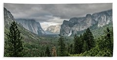 Yosemite View 36 Beach Towel