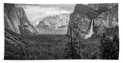 Yosemite View 38 Beach Towel