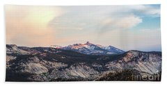 Yosemite View Beach Towel