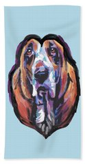 You Are My Basset Hound Heart Beach Towel