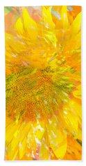 Sunflower Sunshine Beach Sheet