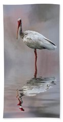 You Lookin' At Me? Beach Towel by Cyndy Doty