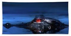 Young Alligator Beach Towel