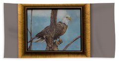 Young Eagle Beach Towel