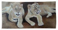 Young Lions Beach Sheet