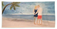 Young Lovers Beach Sheet