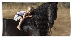 Young Rider Beach Towel