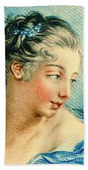 Young Woman 1760 Beach Sheet