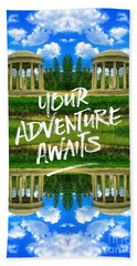 Your Adventure Awaits Temple Of Love Versailles Paris Beach Towel