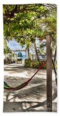 Your Hammock Awaits You Beach Sheet