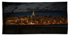 Your Home Port Beach Towel