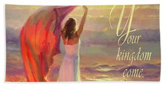 Beach Towel featuring the digital art Your Kingdom Come by Steve Henderson