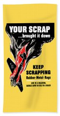 Your Scrap Brought It Down  Beach Towel