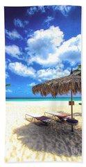 You're Invited To Aruba Beach Towel