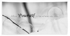 Yourself Beach Towel