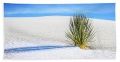 Yucca Beach Sheet by Marla Hunt