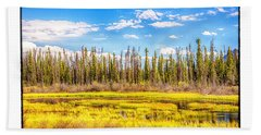 Yukon Marsh Beach Towel