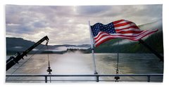 Beach Towel featuring the photograph Yukon Queen by Ann Lauwers