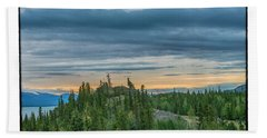 Yukon Sunrise Beach Towel