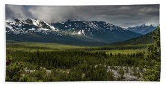 Yukon Wilderness Beach Towel
