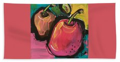 Zany Apples Beach Towel