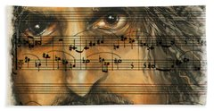 Zappa The Walz  Beach Towel