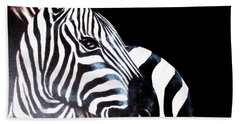 Zebra 2 Beach Towel