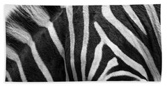 Zebra Stripes Beach Sheet
