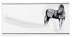 Zebra3 Beach Towel