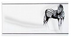 Zebra3 Beach Sheet