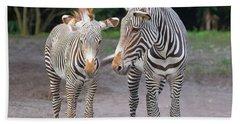Zebras Beach Sheet