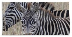 Zebras In Kenya 6 Beach Towel