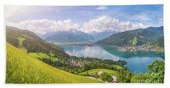 Zell Am See - Alpine Beauty Beach Sheet