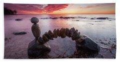 Zen Arch Beach Towel