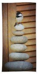 Zen Chickadee Beach Sheet